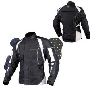 Motorradjacke Winter Jacke Motorradjacke Textil   CE Protektoren, Gr