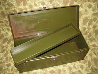 M6 Tool Chest   Willys Jeep, .30 BMG, US WWII WK 2 WK2
