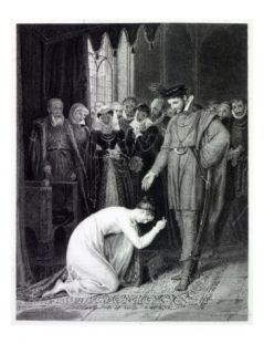 Ellen Douglas Showing the Ring, from Lady of the Lake by Walter Scott Giclee Print by Richard Westall