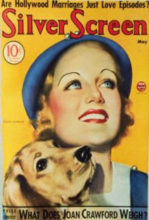 Carole Lombard   Silver Screen Magazine Cover 1930s Masterprint