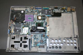 Dell Latitude D630 Mainboard Motherboard PN302 , nVIDIA incl Lüfter