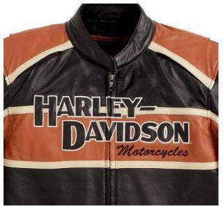 Neu und original leder Jacke von Harley  DavidsonMens Classic Cruiser