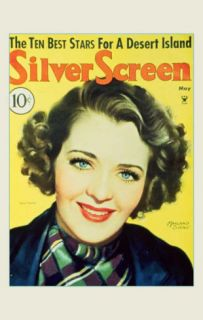 Ruby Keeler   Silver Screen Magazine Cover 1930s Masterprint