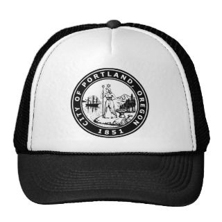 Vintage Portland Oregon Seal Hat