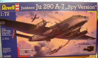 Revell 1:72 04285 Junkers Ju 290 A 7 ,,Spy Version Neu290