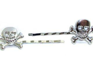 Lucky Skull Totenkopf Rockabilly Haarspangen batcave