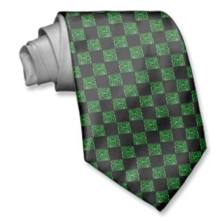 Emerald Green Swirl Checkerboard ie