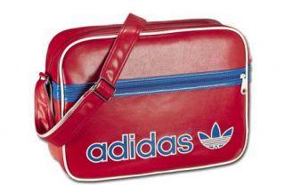Adidas Originals AC Airline Bag Vintage Rot Blau Red Navy X52208 Neu