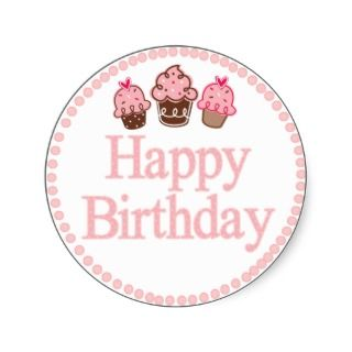 Happy Birthday Sticker