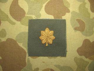 MAJOR Rank   Dienstgrad, US Army Vietnam   heute, REFORGER, Abzeichen