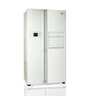 LG GW C227WVQV Side by Side Kühlschrank mit 560l, Soft Touch Barfach