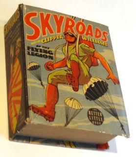 SKYROADS WITH CLIPPER WILLIAMS Big Better Little Book #1459 Very Good