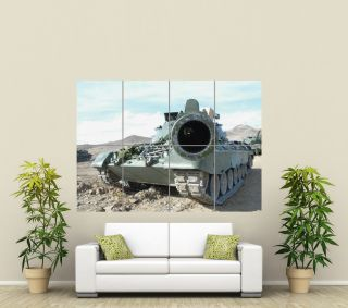 TANK ARMY MILITARY GIANT WALL ART POSTER ST314