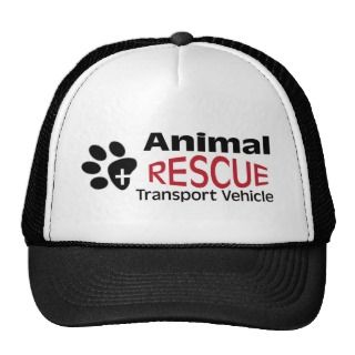 Animal Rescue Transport vehicle Trucker Hat