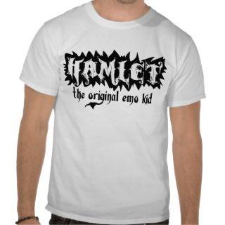 Hamlet   The Original Emo Kid T Shirt