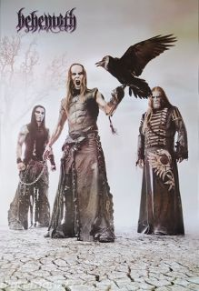 BEHEMOTH Black Metal Rock Band Music Poster 23x34