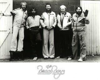 Beach Boys 1977 World Tour Silver Jacket by Watkins Size L