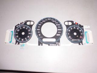 Tachoscheibe Tacho Ziffernblatt Mercedes AMG W219 CLS 320 km/h