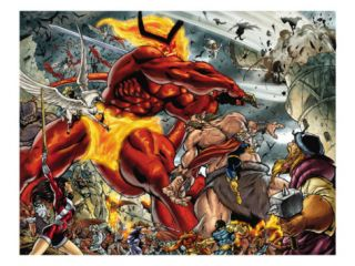 Thor #85 Group Surtur and Beta Ray Bill Posters by Andrea Di Vito