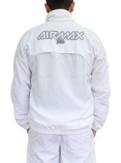 NIKE AIR MAX 360 TRAININGSANZUG ANZUG JOGGINGANZUG ++ WEISS ++ Gr. S