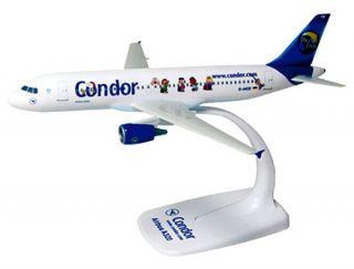 Condor Berlin Peanuts Airbus A320 200 1:200 NEU Flugzeug Modell A320