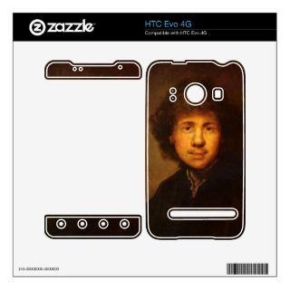 Self Portrait by Rembrandt Harmenszoon van Rijn HTC Evo 4G Skins