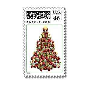 decorated holiday tree usps christmas stamps 2012 unique christmas