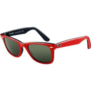 Ray Ban Original Wayfarer Sunglasses Red Black 54mm