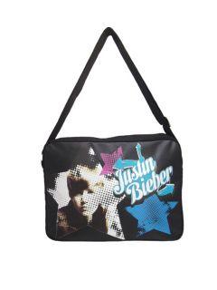 Original Justin Bieber Messenger Bag Schultertasche Tasche inLeder