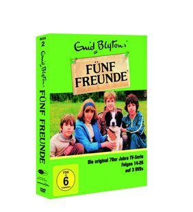 Fünf Freunde Box 2 Folge 14 26 Original TV Serie der 70er (3 DVD BOX