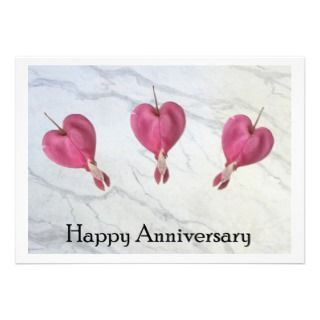 Happy Anniversary Personalized Announcements