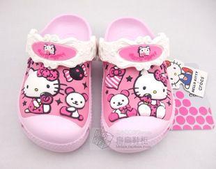 Neu Croc Star Sky Hello Kitty Rosa Kids Kinder Sommer Schuhe Sandalen