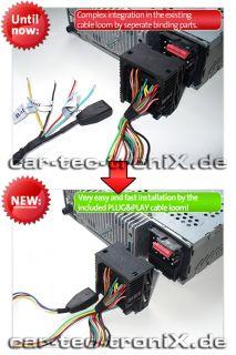 Zemex V2 USB SD AUX  BMW Flach Pins Plug&Play NEU