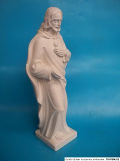 Gips Stuck Figur Statue Jesus groß 40cm hoch Kirchenfigur FR06