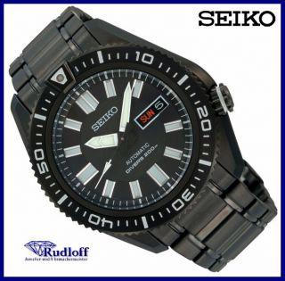 SEIKO 5 automatic Herren Uhr steel gents watch SKZ329 K1 DIVER WR
