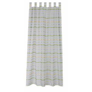 Tchibo TCM Vorhangschals Vorhänge Schlaufenschals 140X245 cm grün