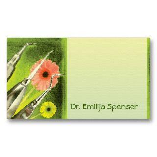 Dental art business cards