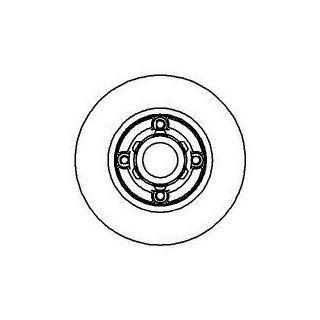 AUTEK Bremsscheiben hinten RENAULT MEGANE 1.416V 2.016V 2.016VIDE 1