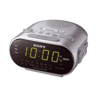Sony ICF C 318 S Uhren Radiowecker Radio mit Weckfunktion LED Display