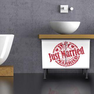 Waschbecken Unterschränke Just Married Bunte Waschtische Bunte