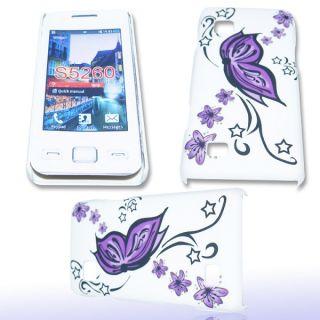 Handy Tasche Hard Case Cover JG Design f. Samsung S5260 Star II