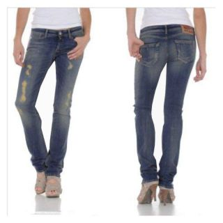 Replay Damen Jeans RATLIN WV651 335 924 011 Soft Hand WOW