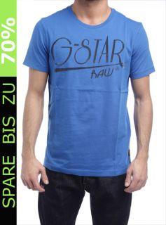 STAR T SHIRT MEN MURRAY R T S/S BLAU 84074.336.1197 HERREN