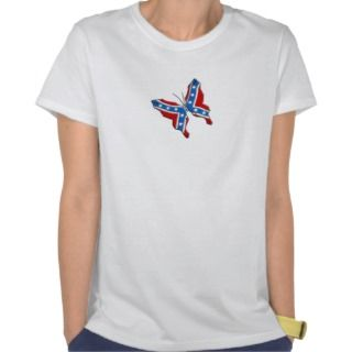 Rebel Butterfly Ladies Top T shirt