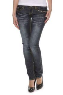 Antique Rivet Straight Leg Jeans LINDSEY Bekleidung