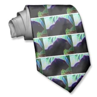 Black Panther Jungle Designs Custom Ties