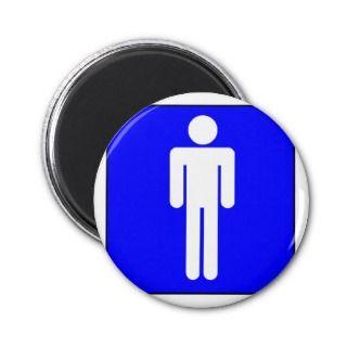 Mens Symbol Magnet