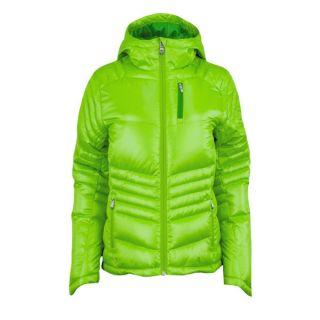 Spyder Damen Daunenjacke Timeless Hoody Down Jacket grün
