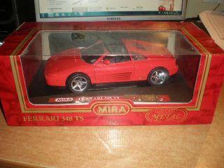Ferrari 348 TS MIRA Die cast metal 118