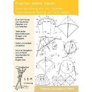 Drachen Kite selber bauen 261 Patente zeigen wie!